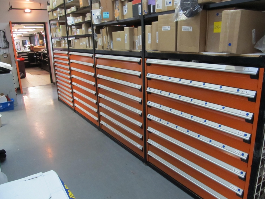 Rousseau Storage Solutions High Density Drawers And